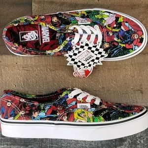 Vans x Marvel Authentic Marvel Multi Skate Shoes NWT